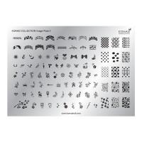 Matrita pentru unghii Konad Collection Image Plate 02