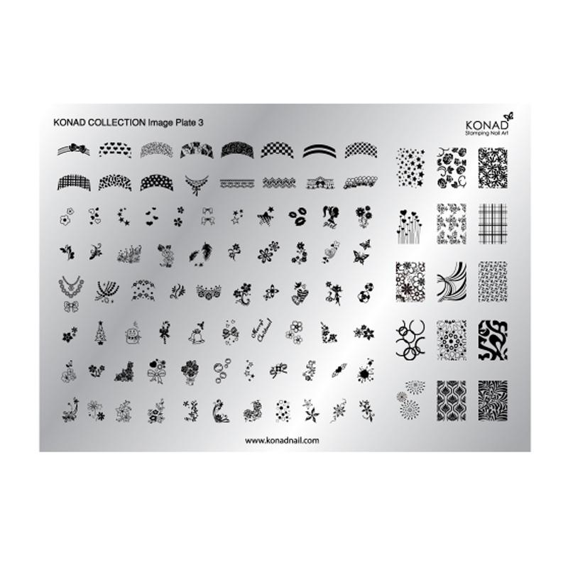 Matrita pentru unghii Konad Collection Image Plate 03 2021 shopu.ro