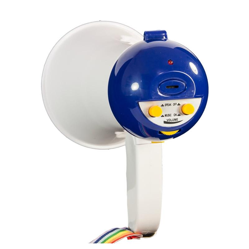 Megafon World Cup, putere 10 W, functie de inregistrare, curea transport