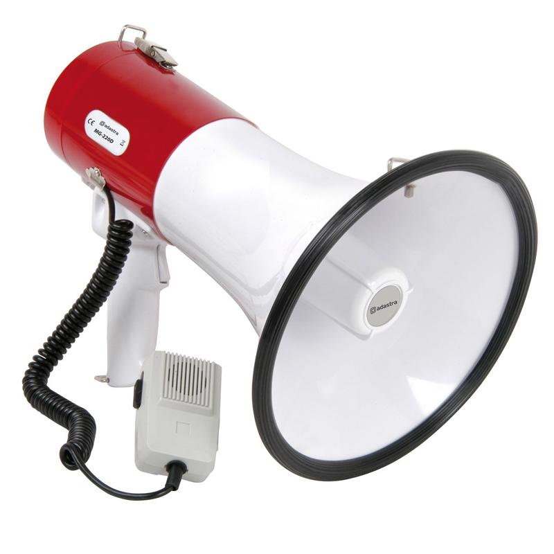 Megafon cu sirena MG-220G, 30 W 2021 shopu.ro