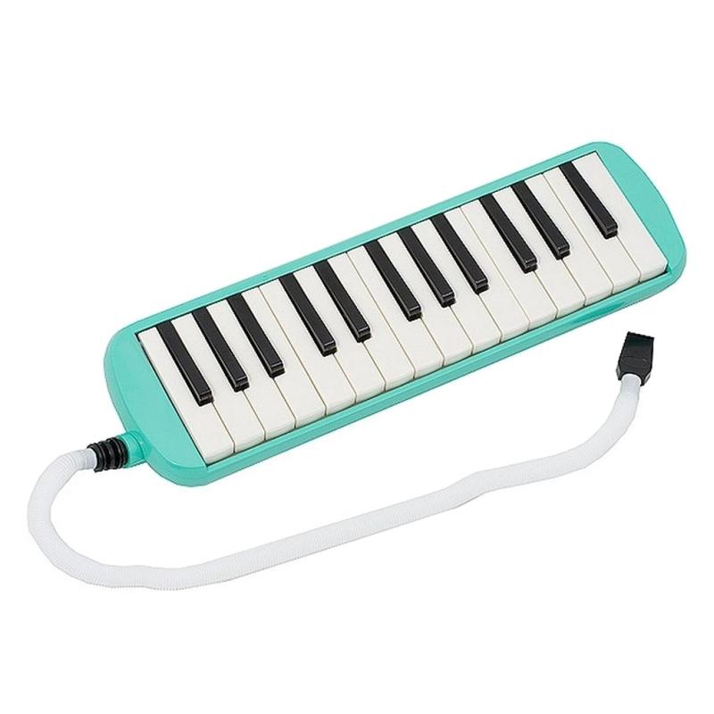 Instrument muzical tip melodica, 32 de clape, albastru 2021 shopu.ro