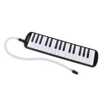 Melodica pentru copii Bontempi, 32 clape, 41 cm, Negru