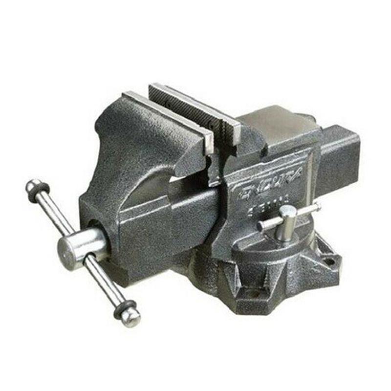 Menghina rotativa de banc Total, 6 inch, 150 mm, maxim 1600 kg, Gri shopu.ro
