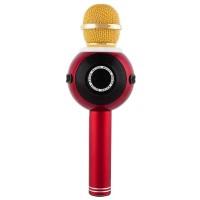 Microfon cu boxa HiFi WS-878, wireless, bluetooth, radio, LED, 5 W
