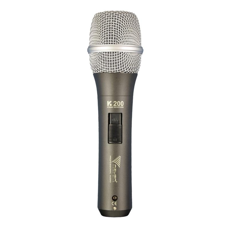 Microfon dinamic Azusa K-200, cardioid, 180 Ohm 2021 shopu.ro