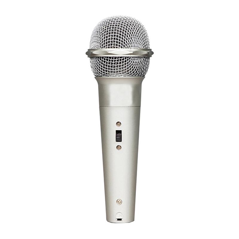 Microfon dinamic cu fir DM-401, cablu 2 m 2021 shopu.ro