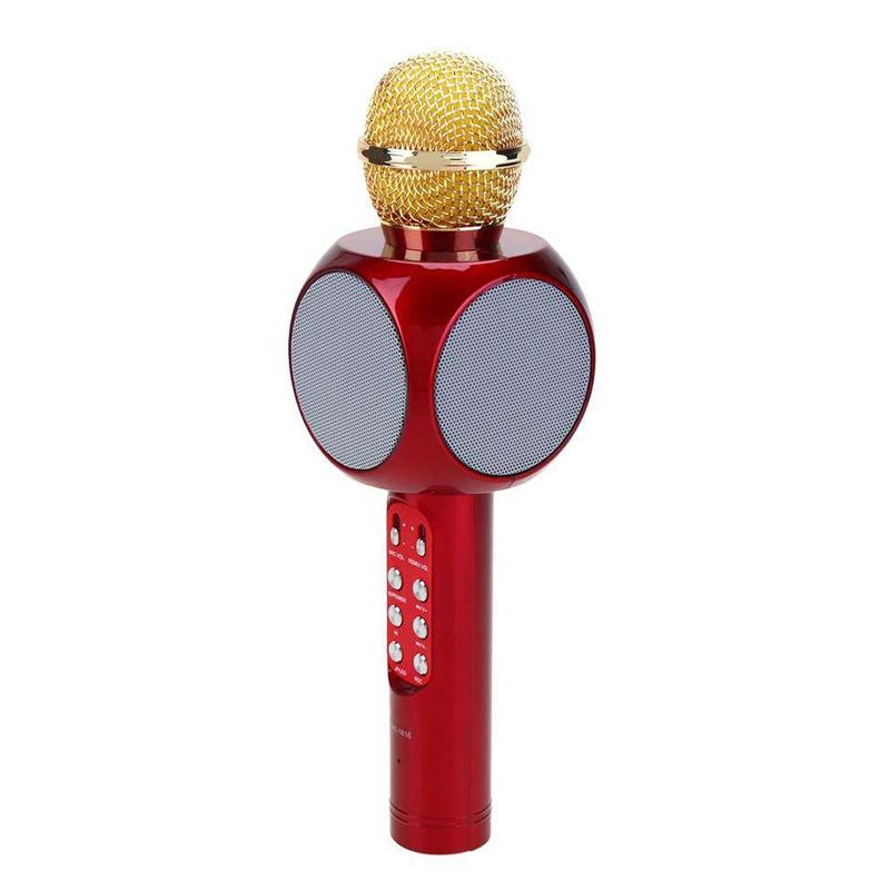 Microfon karaoke Wsier WS-1816, baterie incorporata 2021 shopu.ro