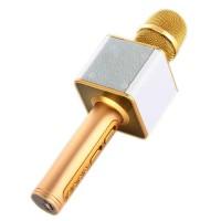 Microfon karaoke fara fir SDRD SD-08, Auriu
