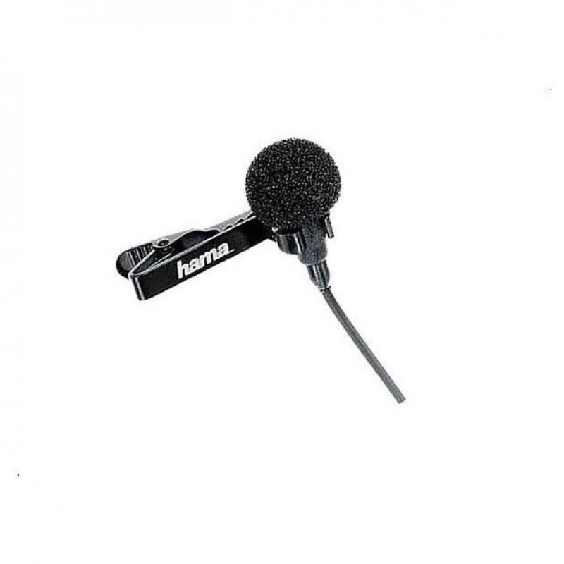 Microfon lavaliera Hama LM-09, jack 3.5 mm, Negru 2021 shopu.ro