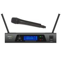 Microfon wireless Ibiza UHF10B, frecventa 864.90MHZ, ecran LCD