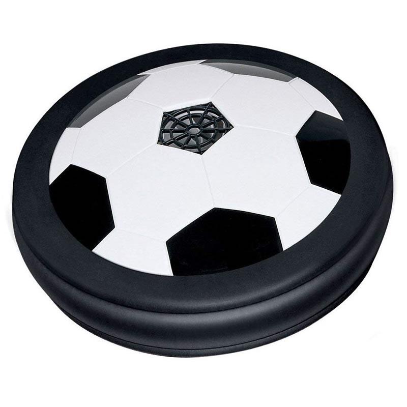 Minge de fotbal rotativa HoverBall, jet de aer si lumini colorate 2021 shopu.ro