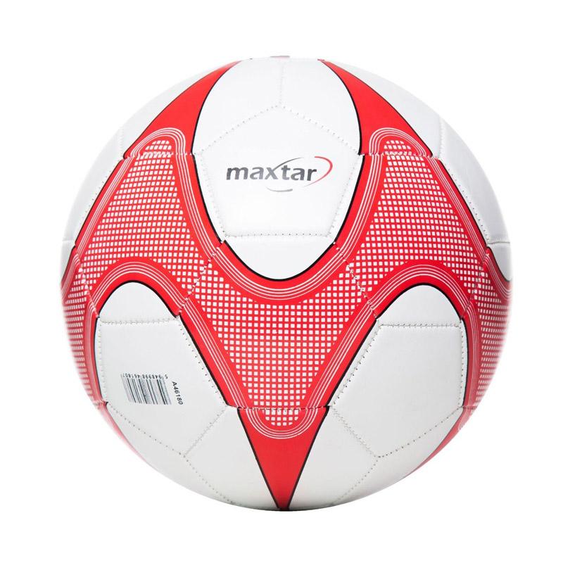 Minge de fotbal Maxtar, 260 - 280 g, alb