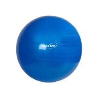 Minge gimnastica Maxtar, 65 cm, Albastru