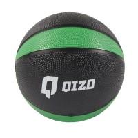 Minge medicinala Qizo, cauciuc, 1 kg, Negru/Verde