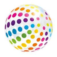 Minge pentru plaja Giant Beach Ball Intex, 183 cm, Multicolor