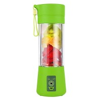 Mini Blender Juice Cup, 320 ml, USB, 2000 mAh, Verde