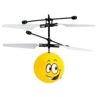 Mini Elicopter cu infrarosu Smiley, 8 ani+, Galben