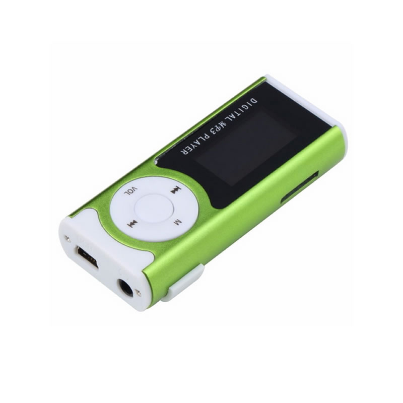 Mini MP3 Player cu radio, display LCD, functie lanterna