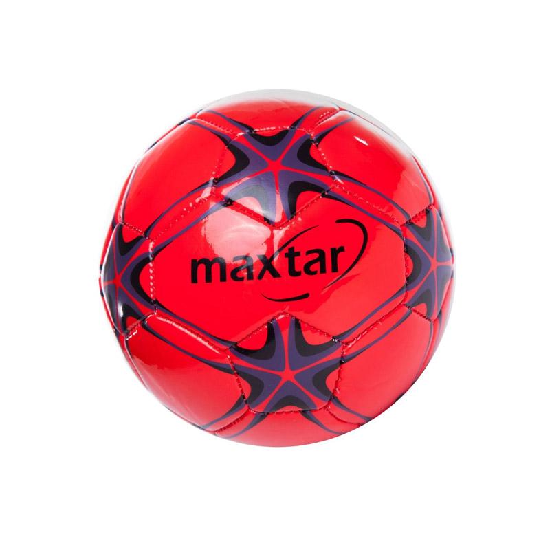 Mini Minge Soccer Maxtar, 140 - 160 g, rosu