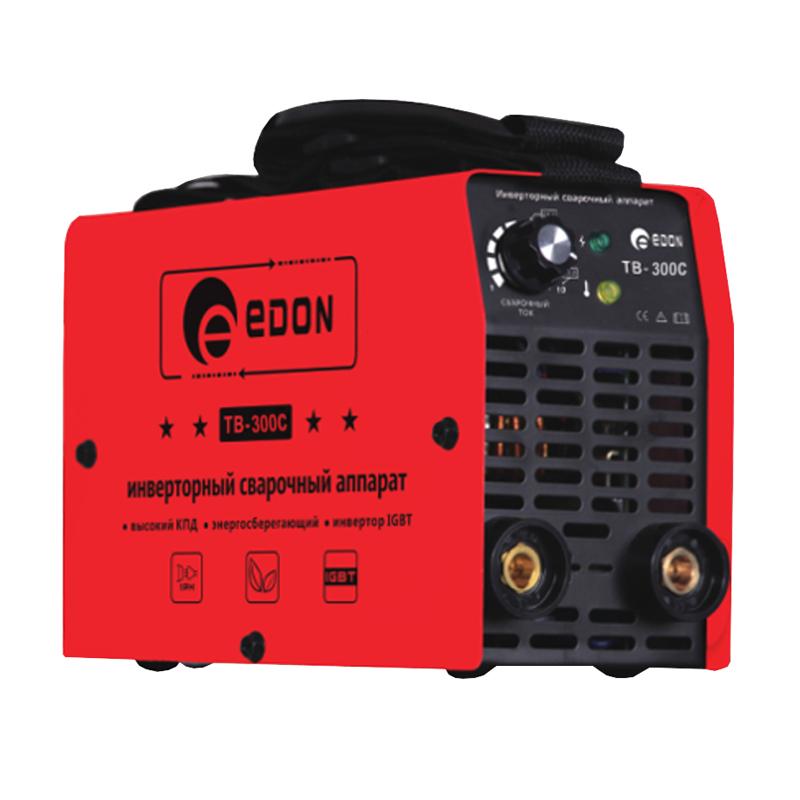 Mini aparat de sudura tip Invertor Edon TB300C, 300 A, electrod 1-5 mm shopu.ro