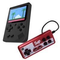 Mini consola portabila Gameboy Sup, 400 jocuri, acumulator 1020 mAh, 1 x controller
