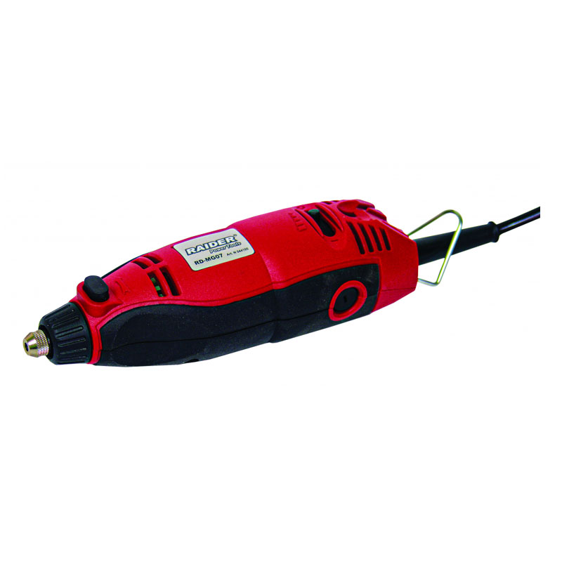 Mini freza Raider RD-MG07, 160 W, 35000 rpm, 3.2 mm