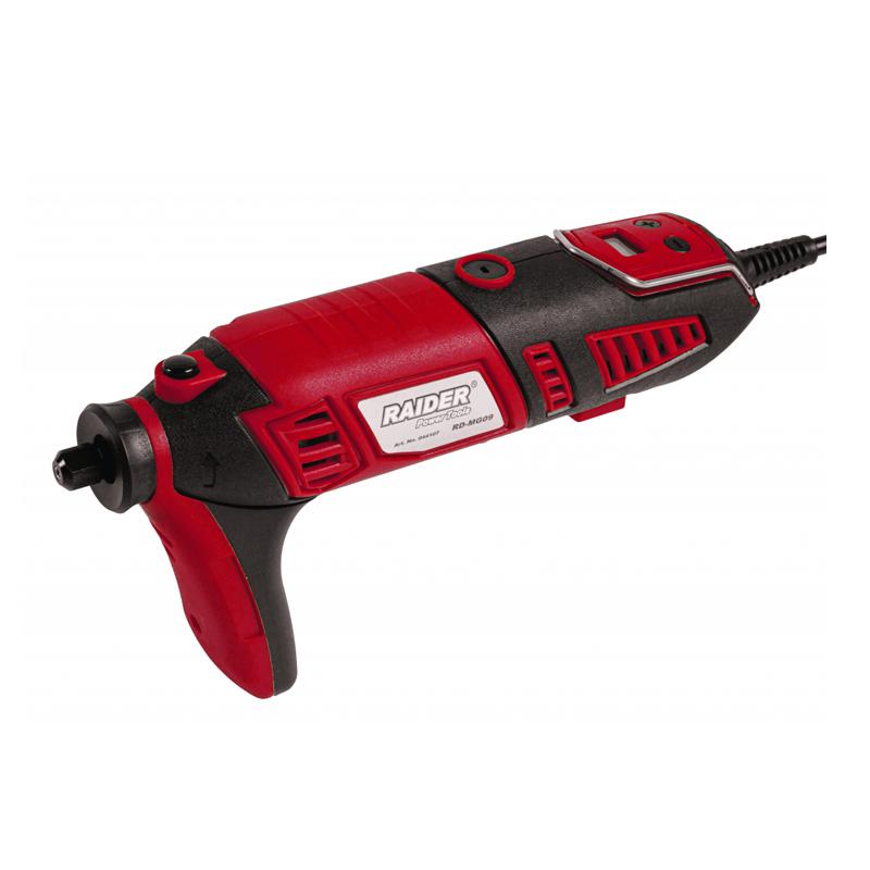 Mini freza biax Raider, 170 W, 32000 rpm, viteza variabila, 126 accesorii shopu.ro