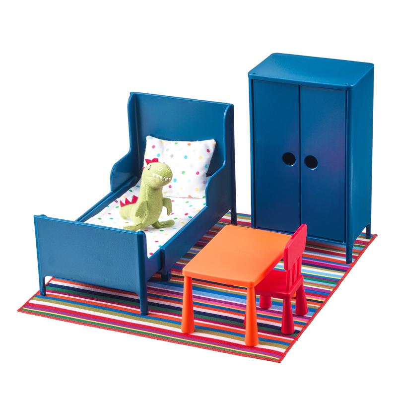 Set mini mobilier pentru papusi, 3 ani+, Multicolor 2021 shopu.ro