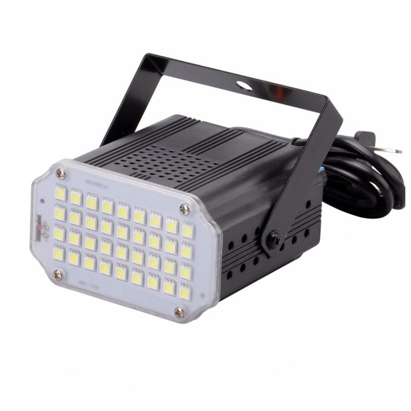 Mini proiector Room Strobe, 24 x LED, functie stroboscop 2021 shopu.ro