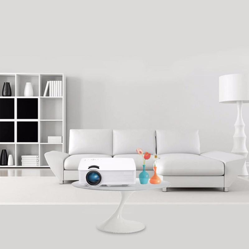 Mini proiector SMP, LED, HDMI, WI-FI, suport card SD