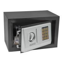Mini seif Smart Delight, cod PIN, 4 x AAA, tastatura tip folie, cheie inclusa