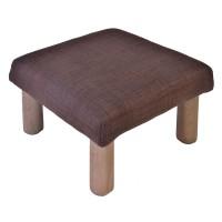 Mini taburet, 30 x 30 x 18 cm, maro