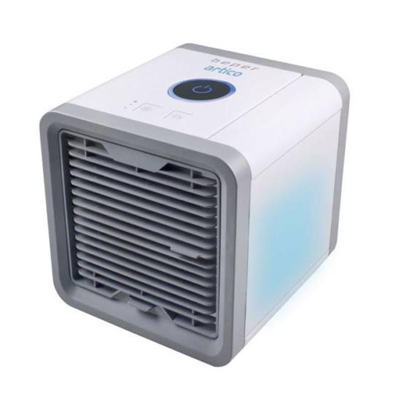 Mini ventilator de birou Beper, 10 W, 750 ml, 3 viteze, LED, alimentare USB 2021 shopu.ro