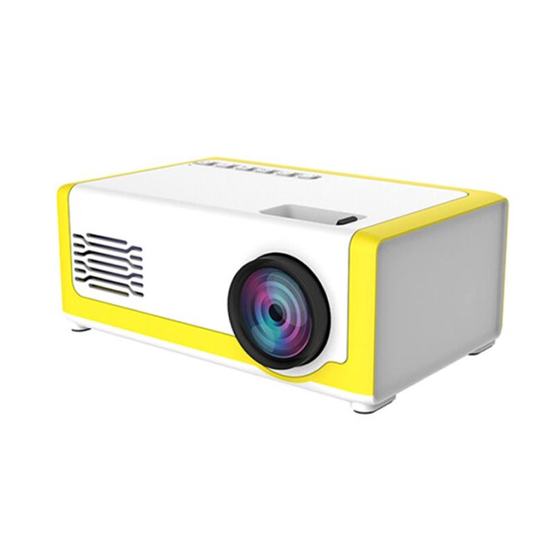 Mini videoproiector LED, 1920 x 1080, 99 lm, HDMI, USB, AV, slot card SD, LCD 2021 shopu.ro