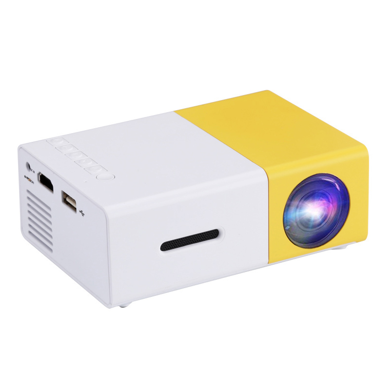 Mini videoproiector LED, proiector portabil Full HD, HDMI, USB, AV, slot card SD, home cinema 2021 shopu.ro