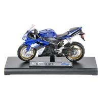 Miniatura motocicleta Yamaha YZF-R1, scara 1:18, schelet metalic