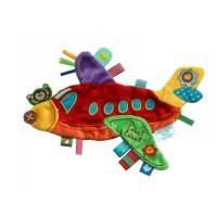 Minipaturica holiday avion, doua fete colorate
