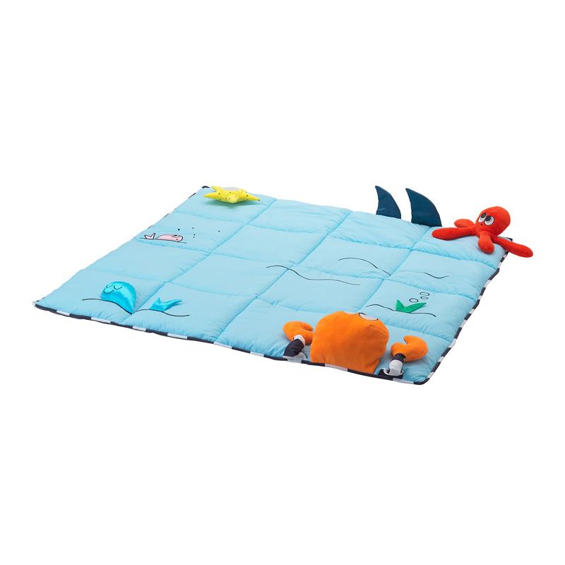 Minipaturica pentru copii, 114 x 114 cm, model marin 2021 shopu.ro