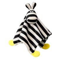 Minipaturica pentru copii, 29 x 29 cm, model zebra