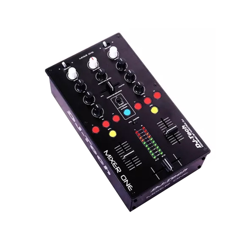 Mixer DJ Midi Tech Profesional, 2 USB, 9 butoane iluminate 2021 shopu.ro