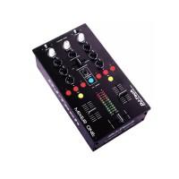 Mixer DJ Midi Tech Profesional, 2 USB, 9 butoane iluminate