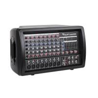 Mixer amplificare linie Phantom, 2 x 100 W, USB, Negru