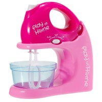 Mixer cu bol Play at Home, 20 cm, Roz