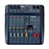 Mixer profesional fara amplificare Temeisheng, 50 W, USB, egalizator