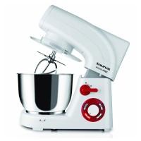 Mixer cu bol Mixing Chef Taurus, 1200 W, 5.5 l, 6 viteze, program framantare, functie Turbo