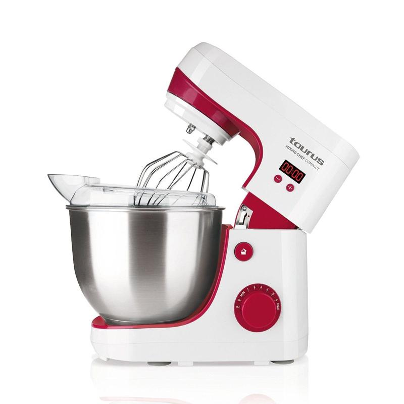 Robot bucatarie Mixing Chef Compact Taurus, 600 W, 4.2 l, 8 viteze, functie Puls 2021 shopu.ro