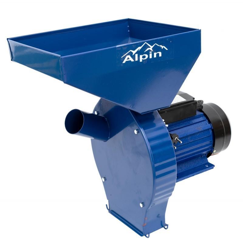 Moara electrica Alpin KBE-180K, 3.8 kW, 250 kg/h, 3000 RPM, 4 site, sac colector 2021 shopu.ro