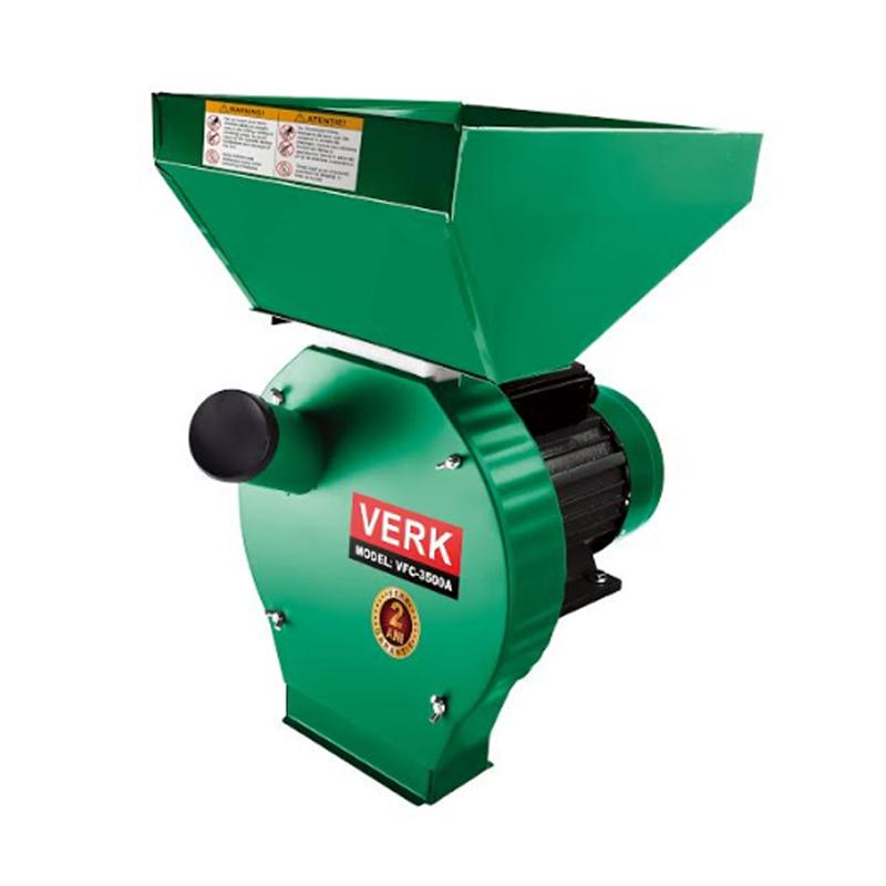 Moara electrica Verk, 3500 W, 350 kg/h, 2850 RPM, 4 site incluse 2021 shopu.ro