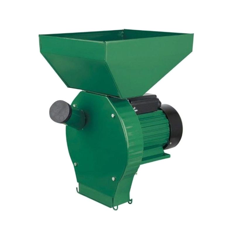 Moara electrica pentru cereale/stiuleti Craft Tec, 3800 W, 3000 rpm, 250 kg/h, 4 site incluse 2021 shopu.ro