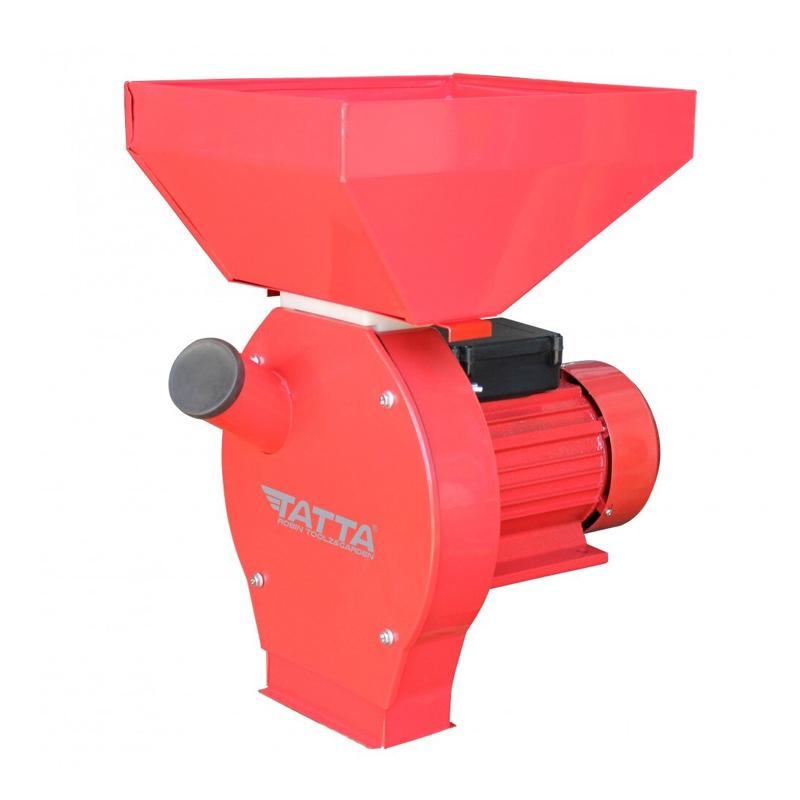 Moara electrica cu ciocanele Tatta, 2500 W, Nr. 2, 240 kg/h, 20 ciocanele, 3000 rpm, cuva mare 2021 shopu.ro